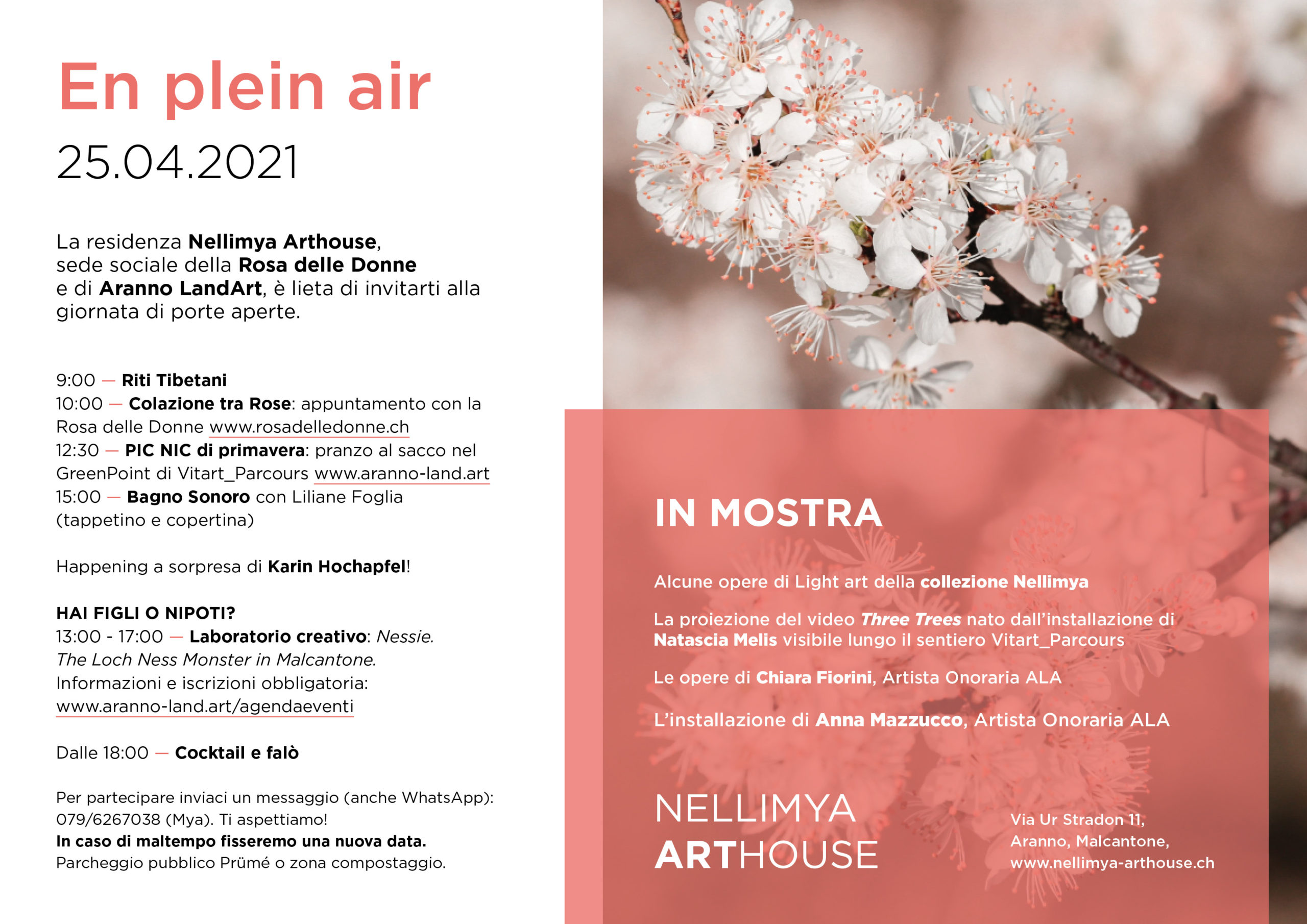Nellimya Arthouse - 25.04.2021 - En plein air
